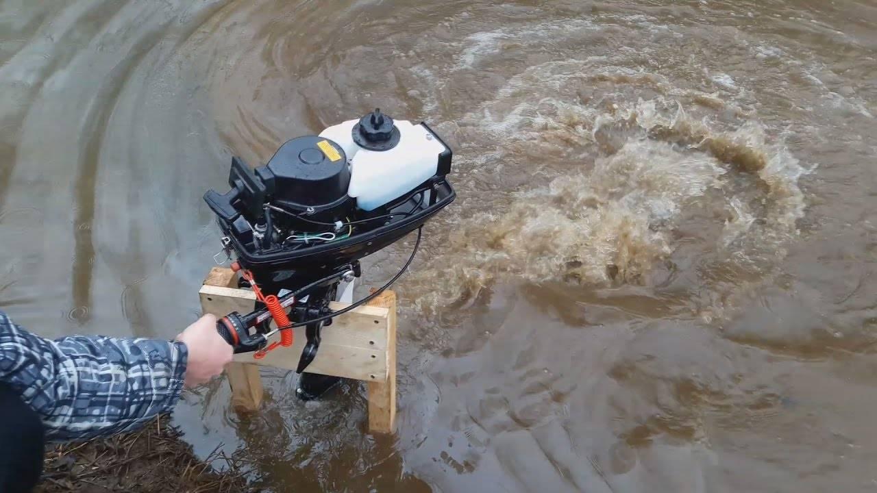 Как проводится обкатка лодочного мотора
