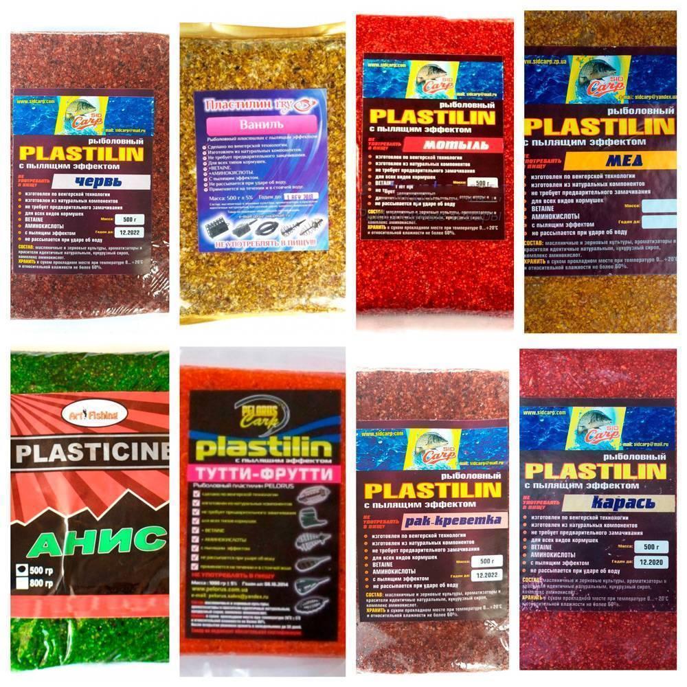 Рыболовный пластилин: что это такое и как пользоваться
