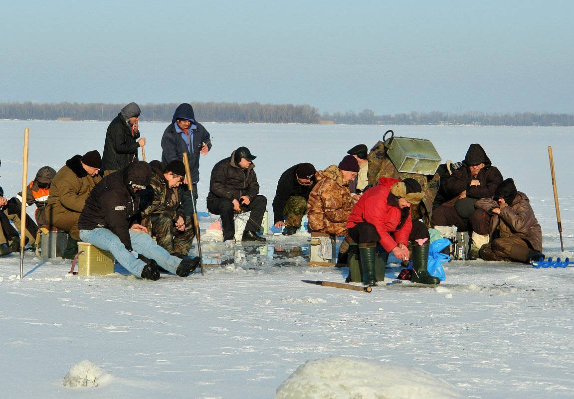 Удивительная рыбалка на озере имандра