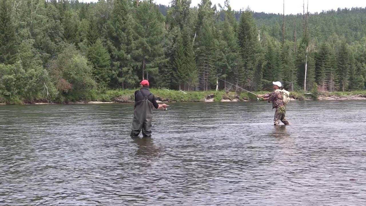Спортивная рыбалка на реках тувы с доставкой на место рыбалки и обратно