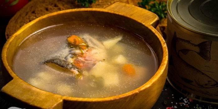 Уха вкусная – кулинарный рецепт