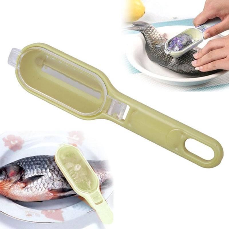 Приспособления для чистки рыбы