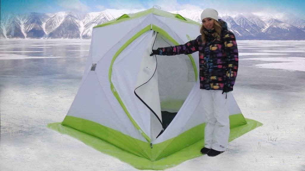 Палатка-куб для зимней рыбалки. какую выбрать. описание. цены