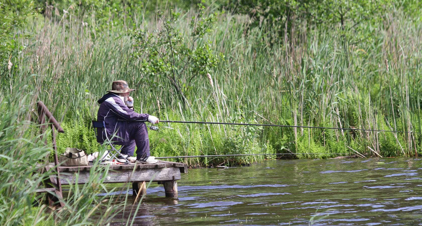 рыбалка озеро удачное