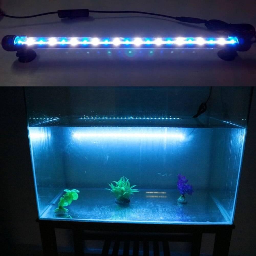 Делаем освещение аквариума своими руками