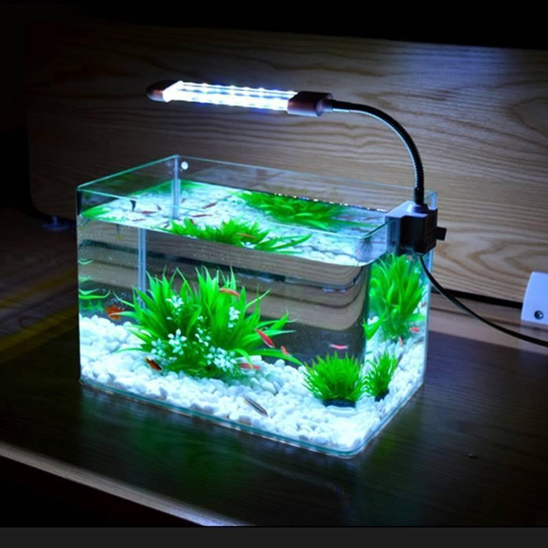 Светодиодные светильники для аквариума (лампы, ленты, прожекторы) – рейтинг производителей