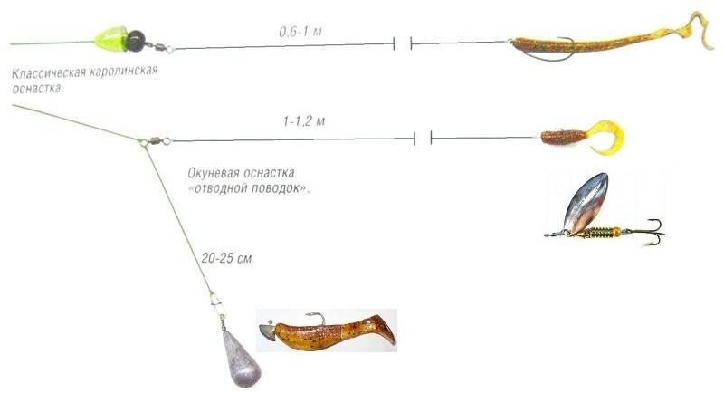 Ловля на отводной поводок: оснастка и монтаж