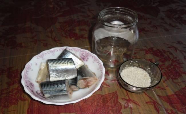 Скумбрия в горячем маринаде – кулинарный рецепт