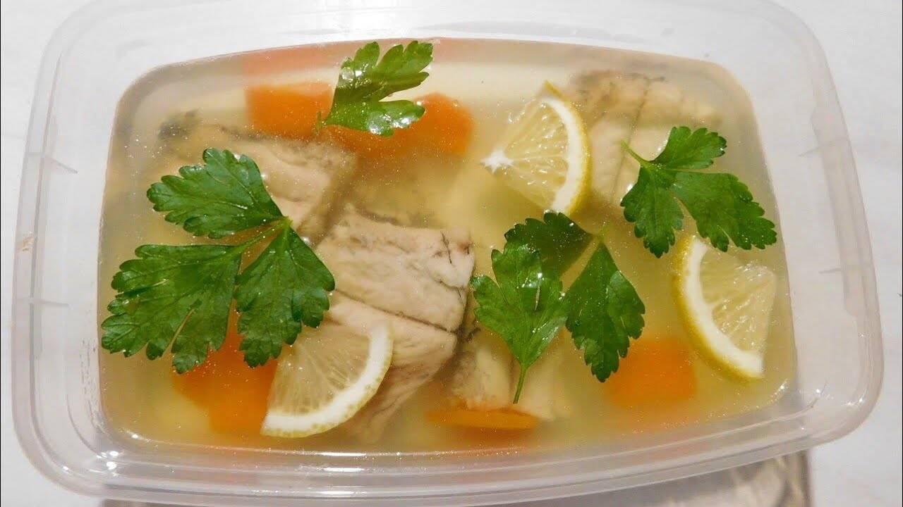 Заливное из рыбы — 5 простых и вкусных рецептов