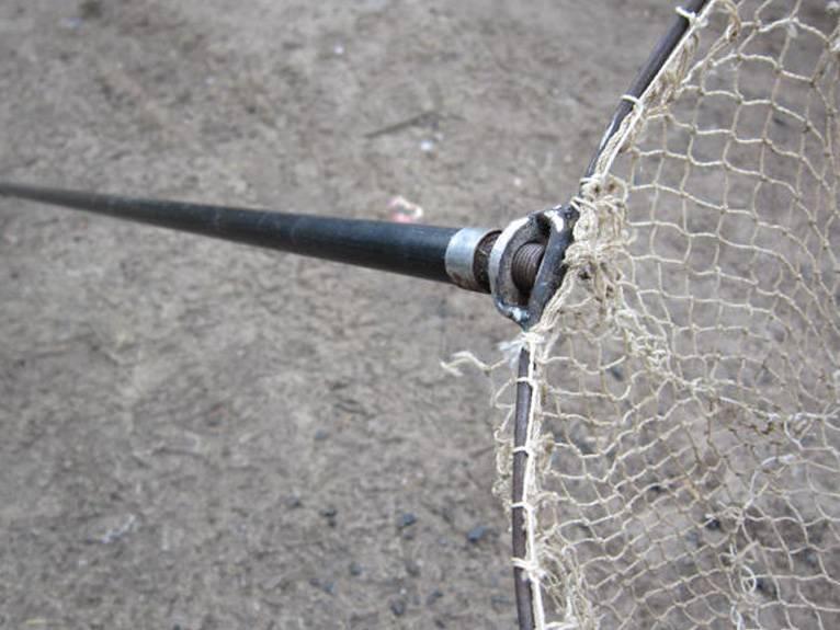 Подсачек: как сделать сачок для рыбалки своими руками