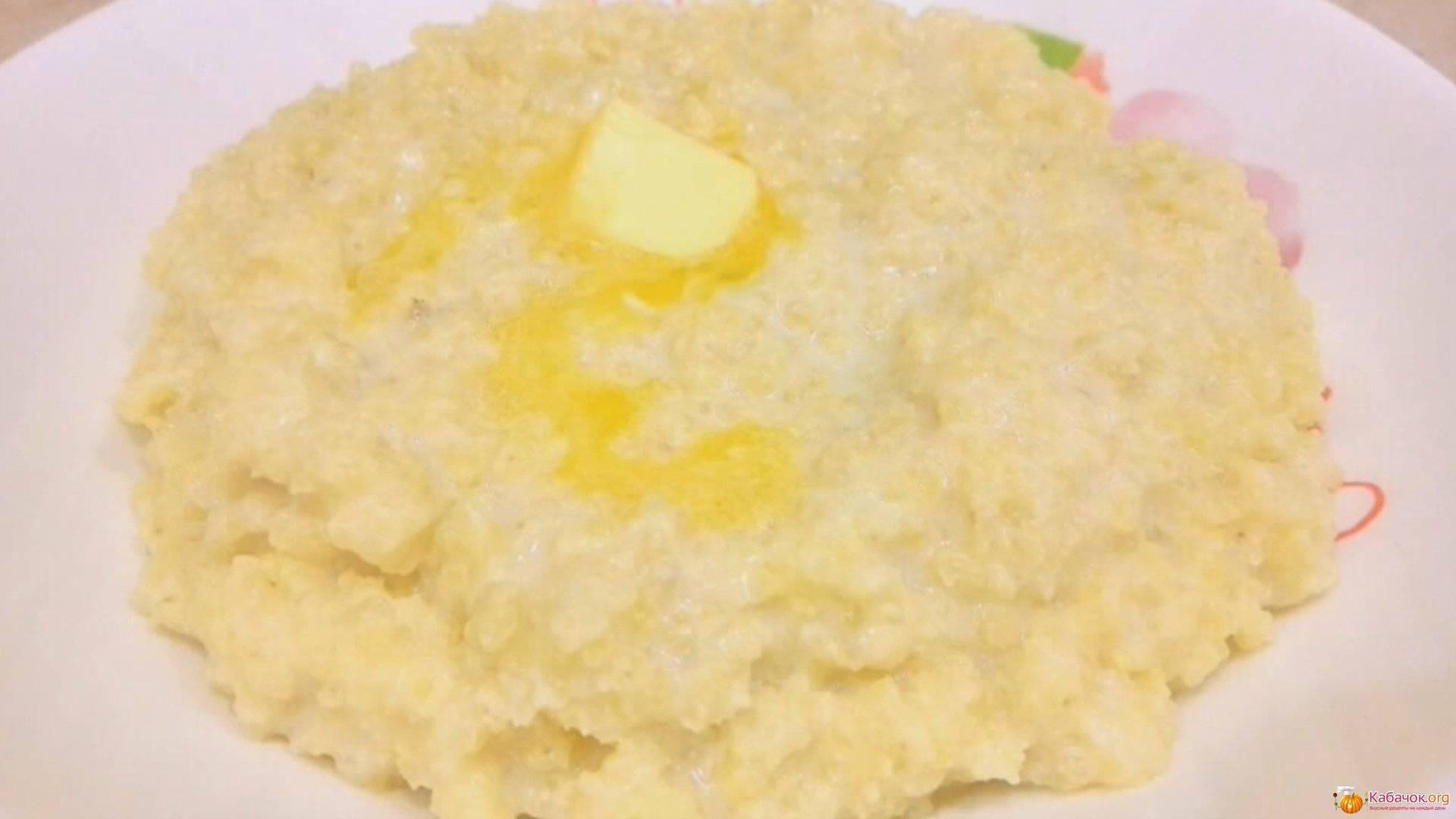 Пошаговый рецепт приготовления пшенной каши на молоке с фото