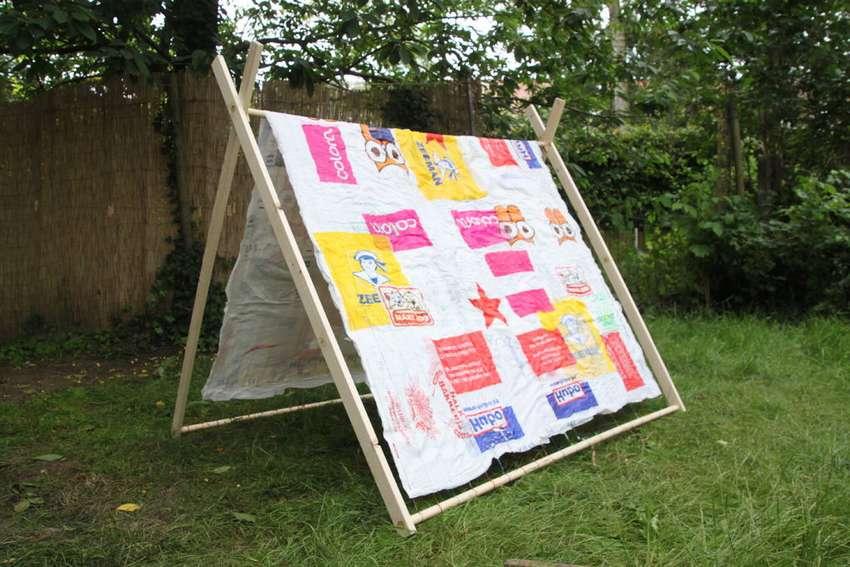 Как сложить палатку в круглый чехол, как собрать и свернуть детскую палатку восьмеркой, схема