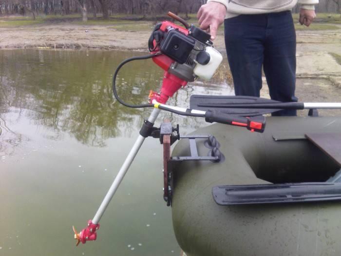 Лодочный мотор из триммера: пошаговая инструкция по переделке