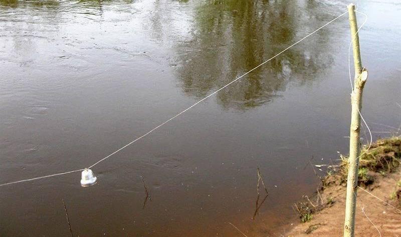 Как правильно установить перемет на налима - про рыбалку