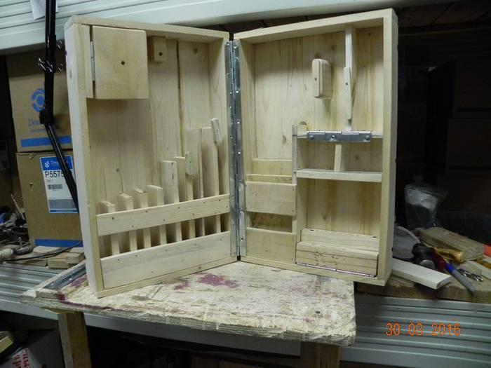 Ящик для инструментов своими руками - 110 фото с лучшими идеями!