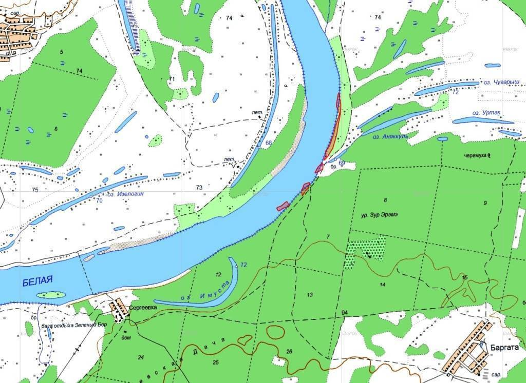 Рыбалка в архангельской области (29)   карта рыболовных мест