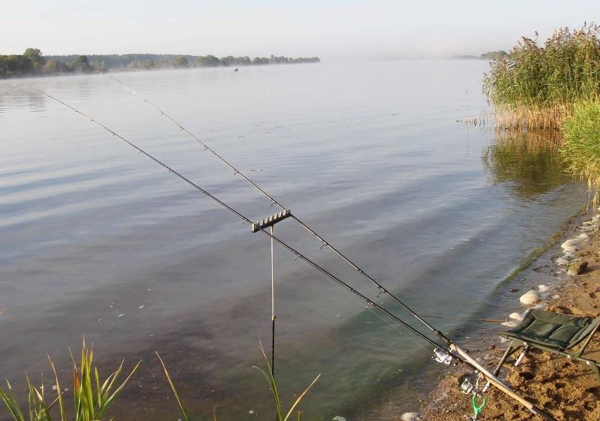 Оснастка для ловли на фидер на реке с течением