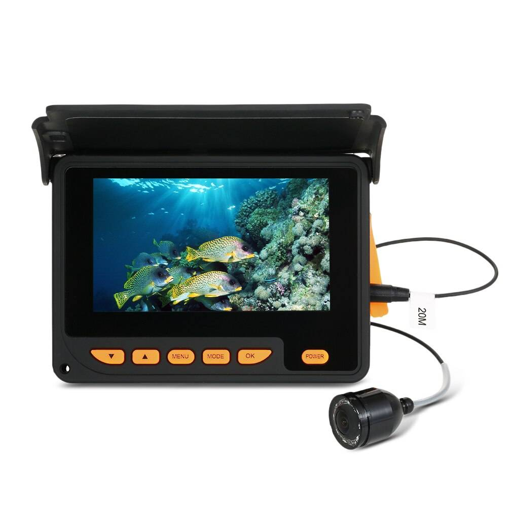 Рыбоискатель с видеокамерой или эхолот: что лучше?