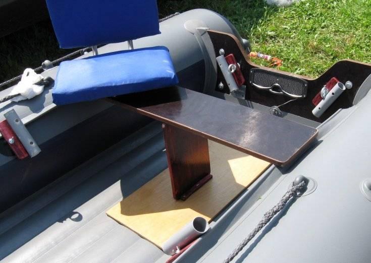 Тюнинг лодки пвх для рыбалки своими руками - комплектующие, ремонт и отзывы