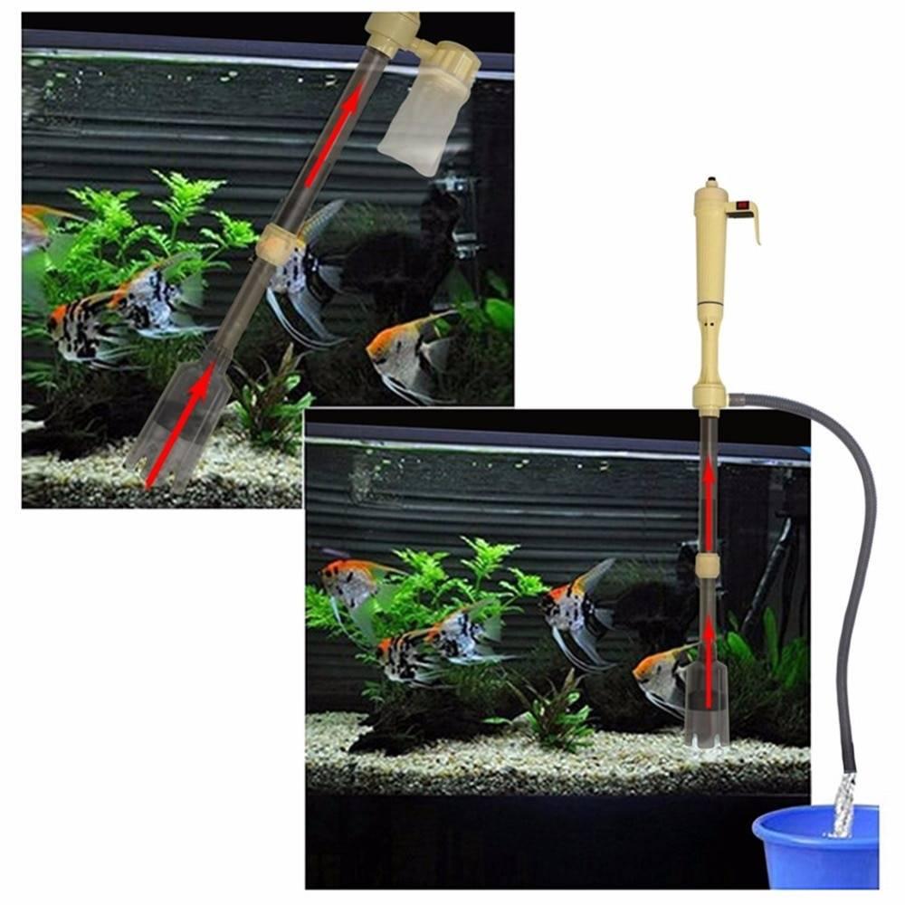 Сифон для аквариума: как сделать аквариумный сифон для чистки грунта своими руками? как пользоваться электрическим сифоном?