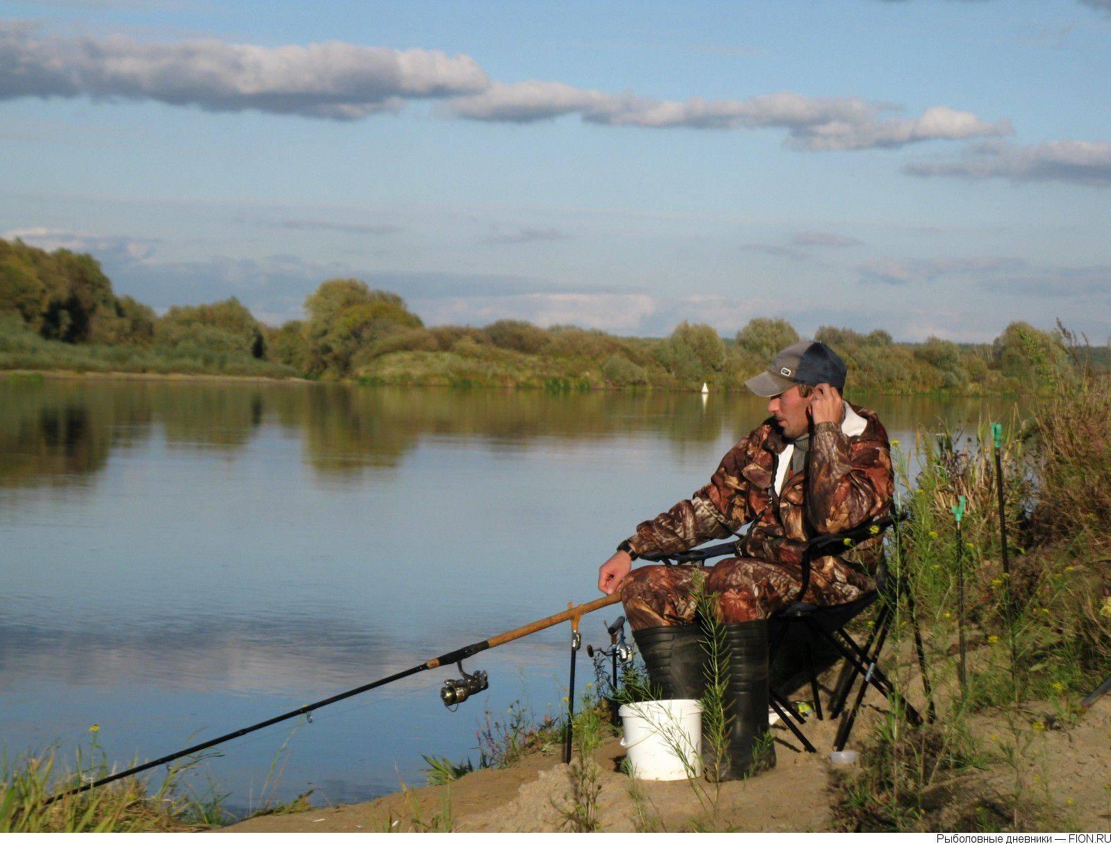 Карта рыболовных мест рязанской области   описание и фото