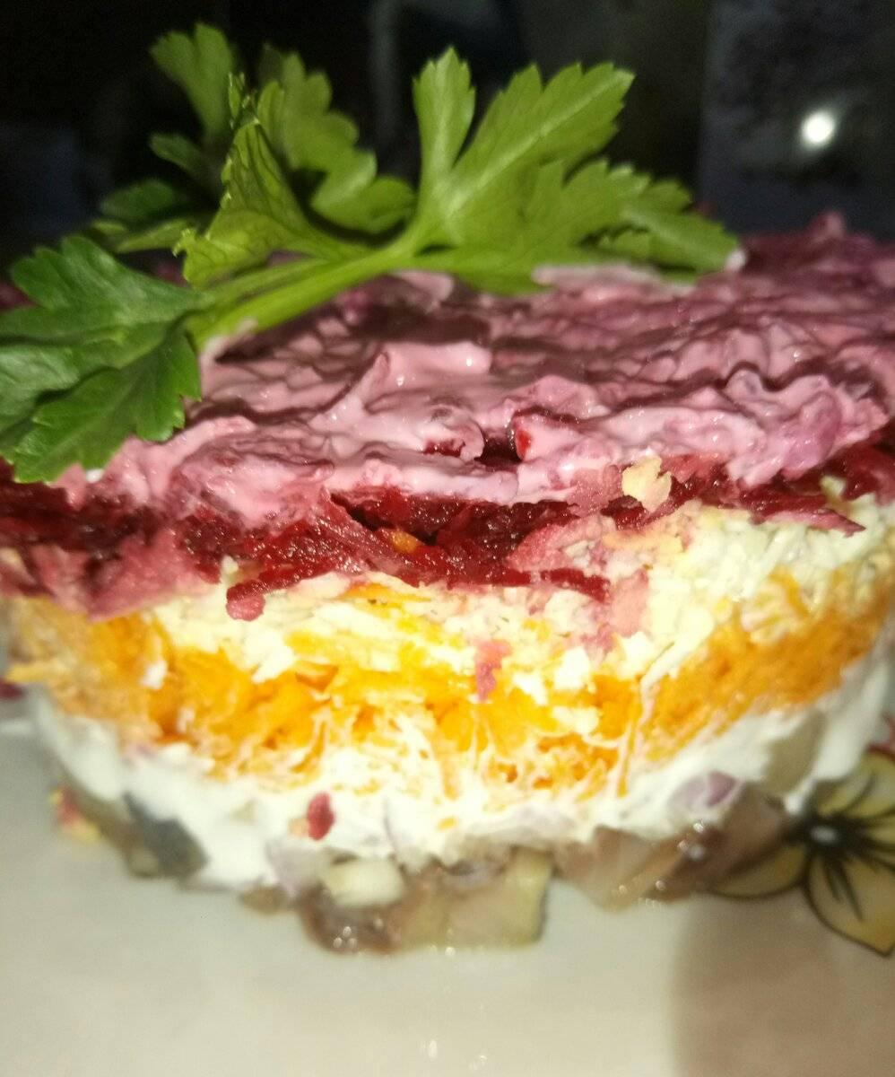Селедка под шубой — любимый праздничный салат