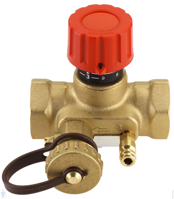 Балансировочный клапан для системы отопления - принцип работы и установка
