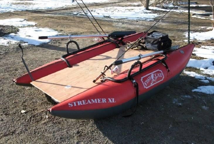 Тюнинг надувных лодок пвх своими руками для рыбалки - видео