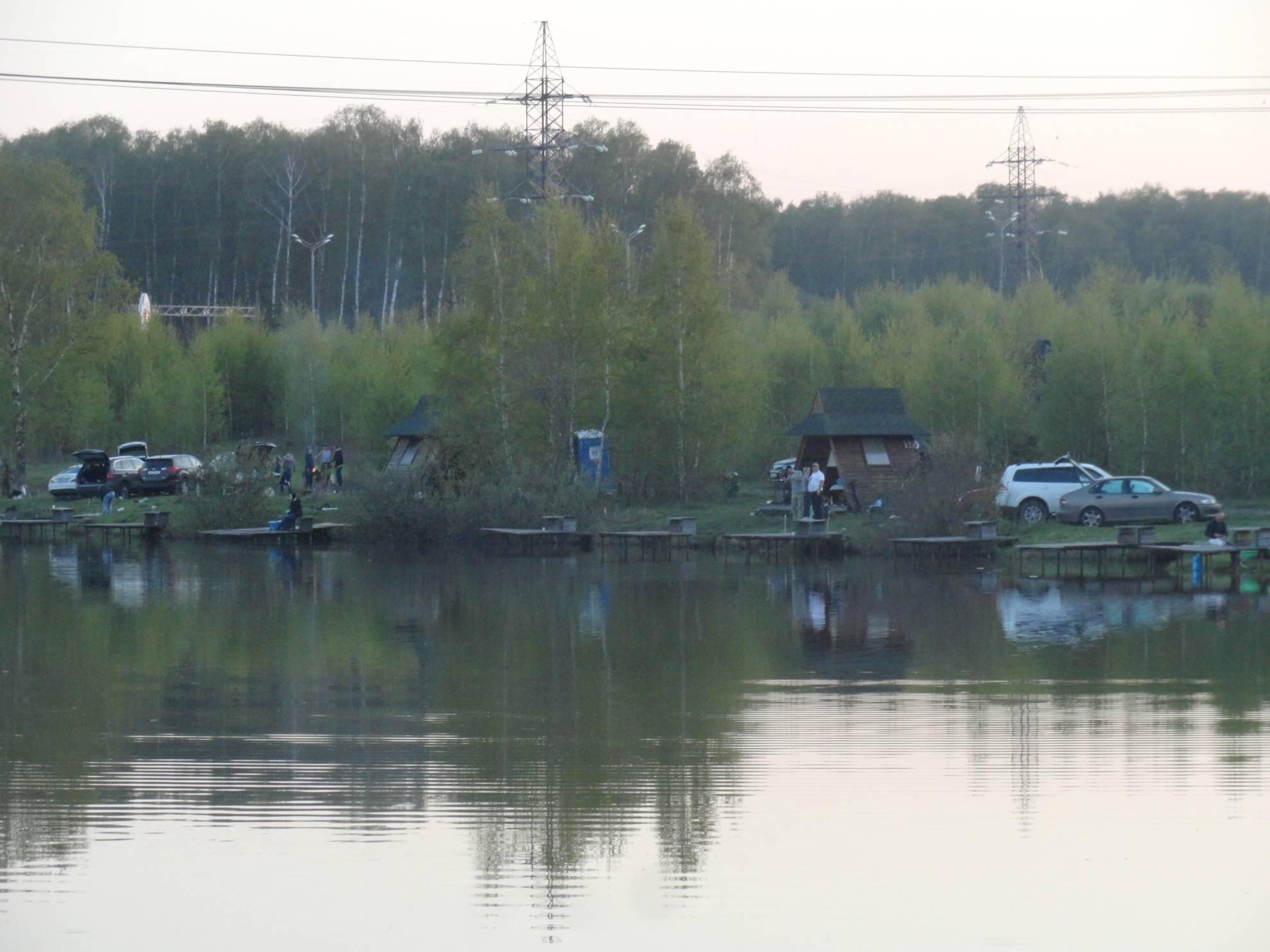 Рыбные места в домодедово