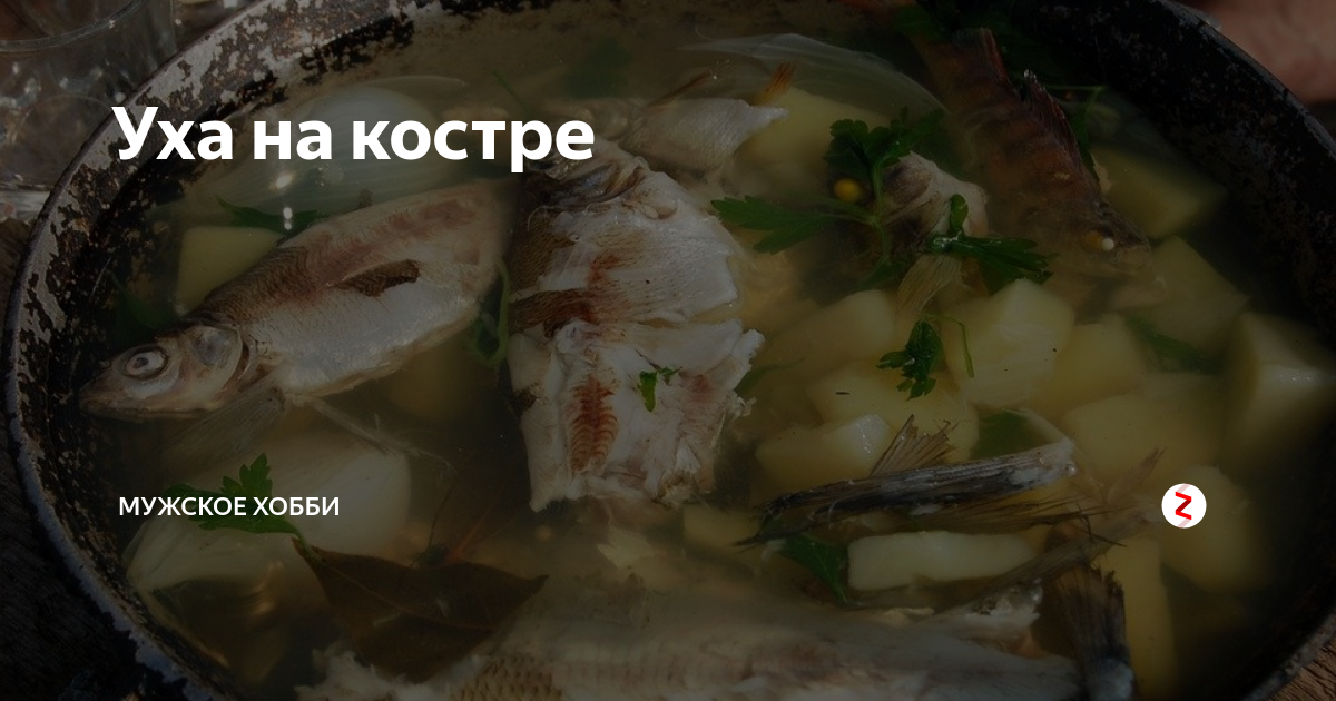 """Уха из семги """"ух-комплект!"""" – кулинарный рецепт"""