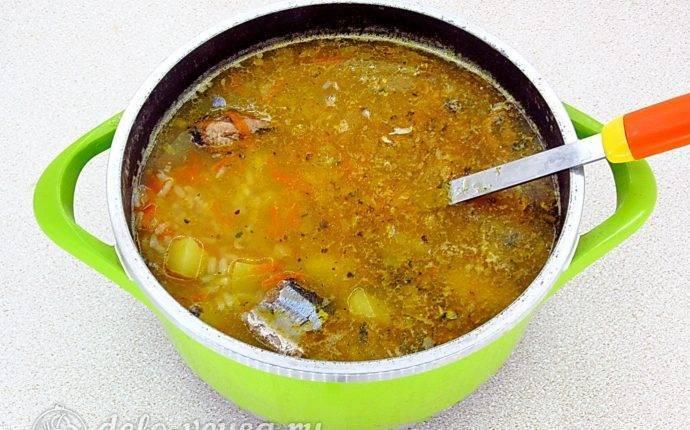 Cуп из сeмги с овощами и пшеном – кулинарный рецепт