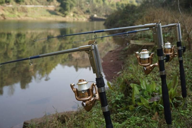 Самодельные подсекатели для летней рыбалки.