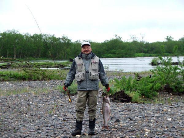 Трофейная рыбалка на гольца