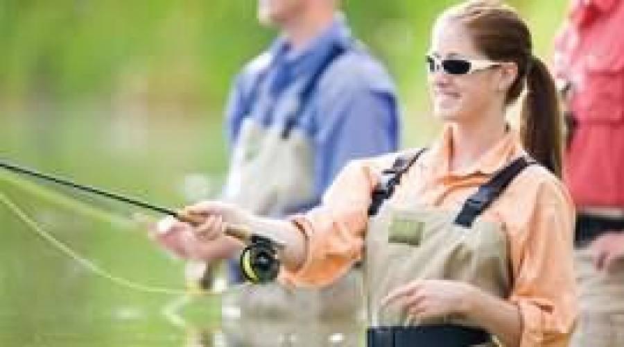 Поймать на удочку речную рыбу