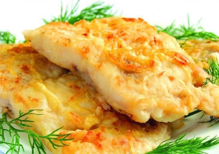 Минтай в кляре с сыром рецепт с фото - 1000.menu
