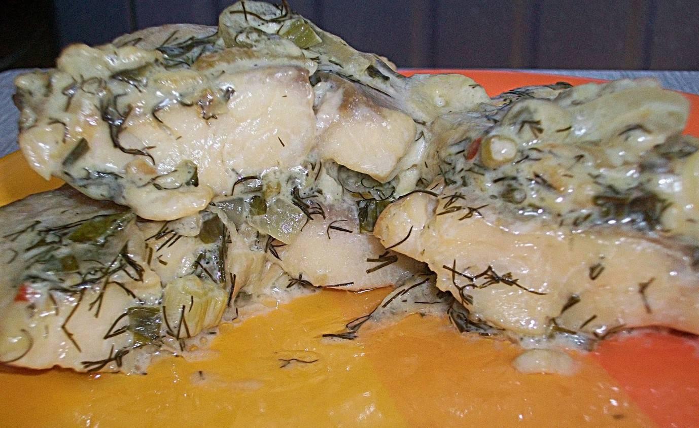 Рыбные тефтели в сметанном соусе - 12 пошаговых фото в рецепте