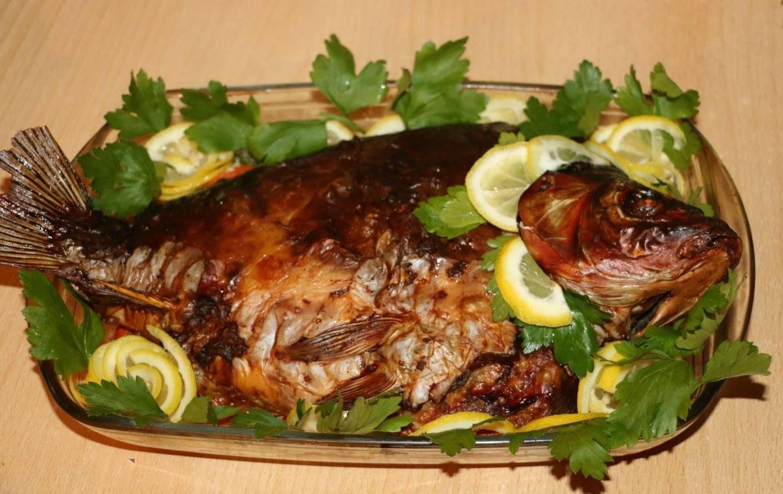 Карп фаршированный – кулинарный рецепт