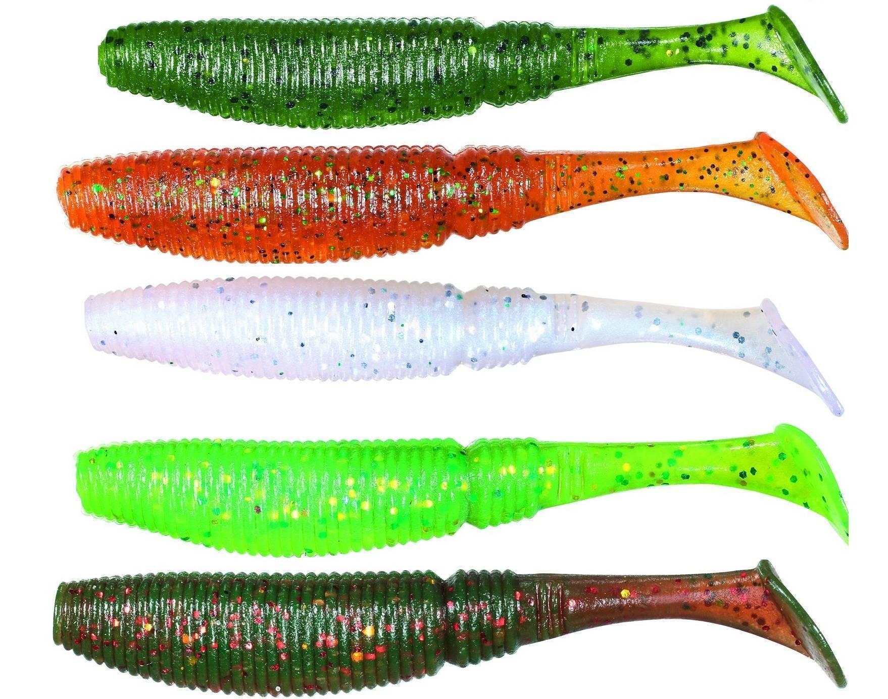 Съедобная резина: достоинства и недостатки приманки для рыбалки, обзор моделей для ловли окуня и щуки