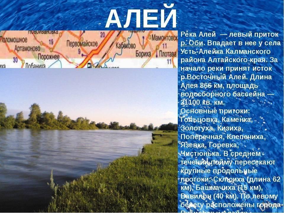 Река бия: карта, фото, описание