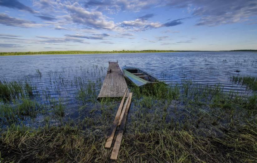 Ковжа (река, впадает в озеро лача) википедия