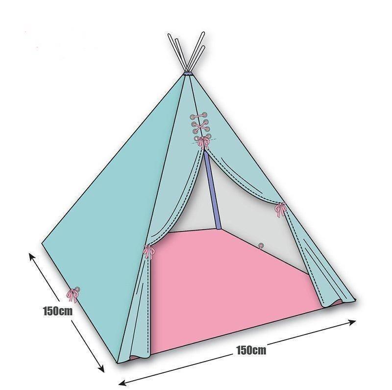 Как сшить палатку своими руками: стандартная, зимняя и детская