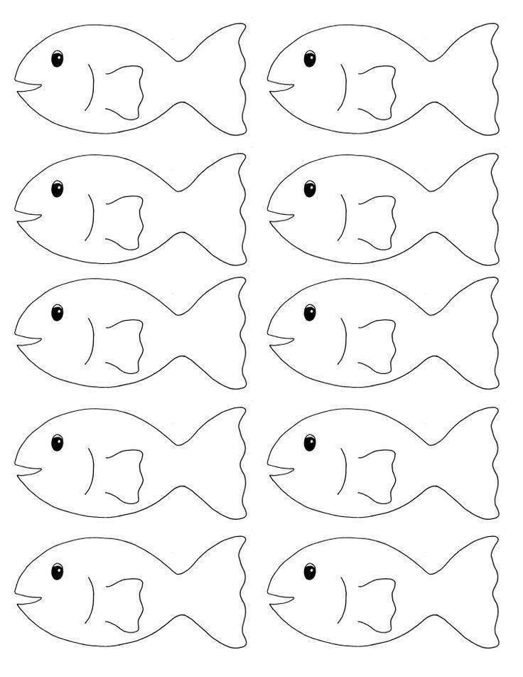 Объемная аппликация рыбки в аквариуме