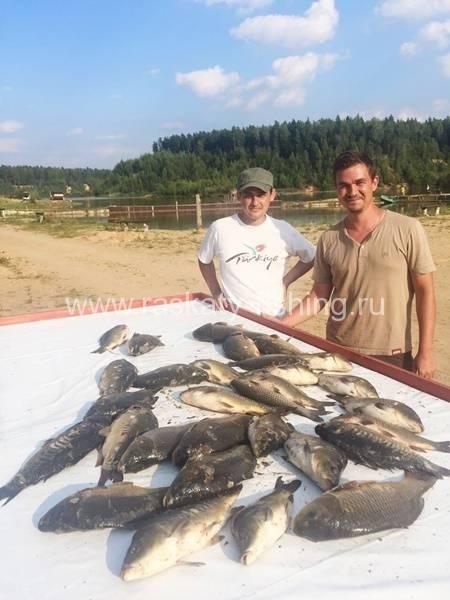 Раскаты» рыболовный клуб