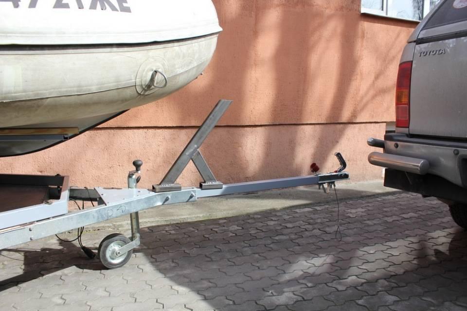 Прицеп для лодки своими руками. инструкция по изготовлению, чертежи, материалы