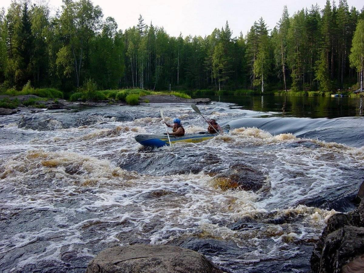 Рыбалка на реке шуя