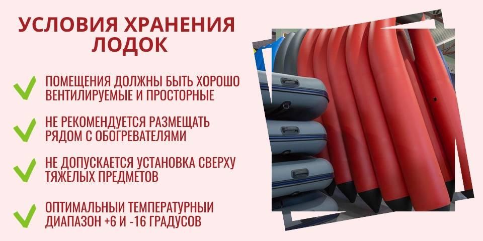 Хранение надувной лодки: в гараже и на улице, летом и зимой