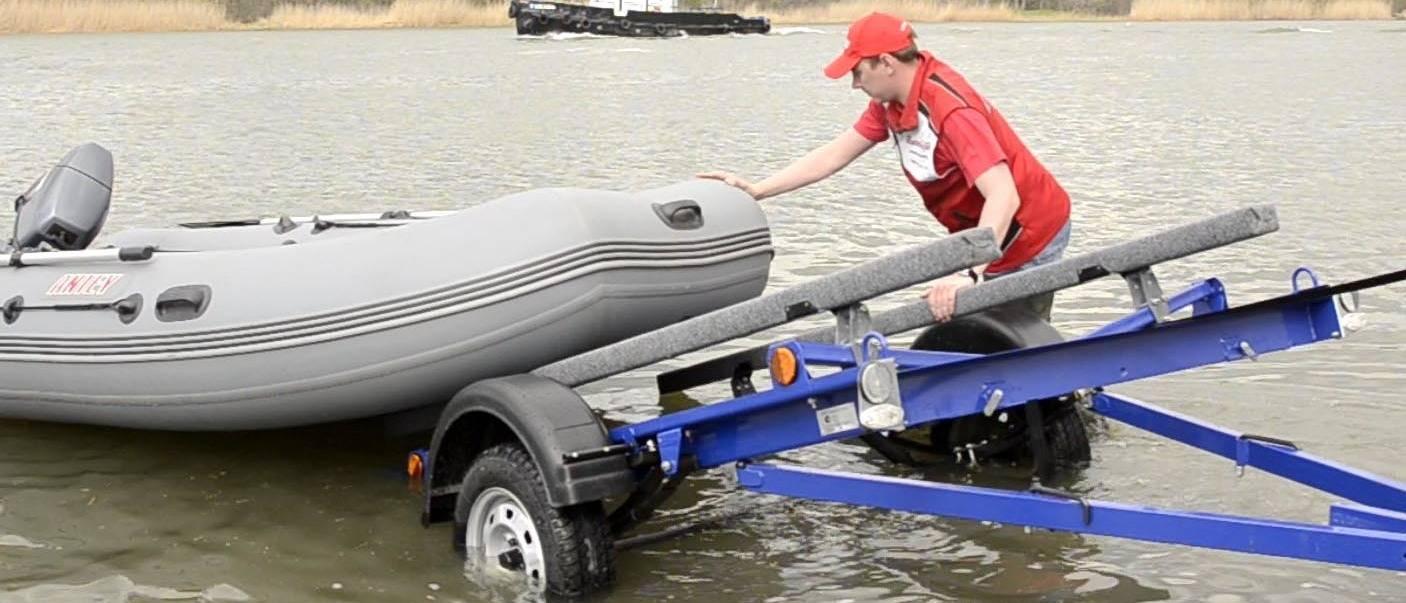 Выбираем прицеп для перевозки для лодки пвх