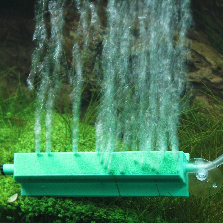 Аэратор для аквариума: насыщение воды кислородом с растениями