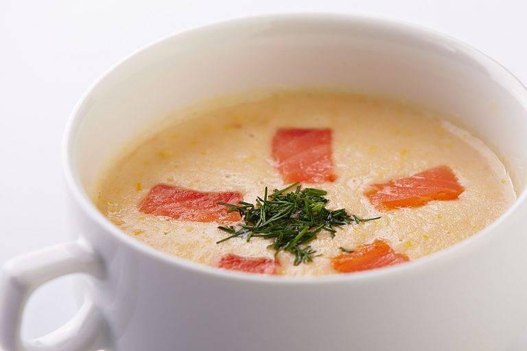 Норвежский сливочный суп с сeмгой – кулинарный рецепт