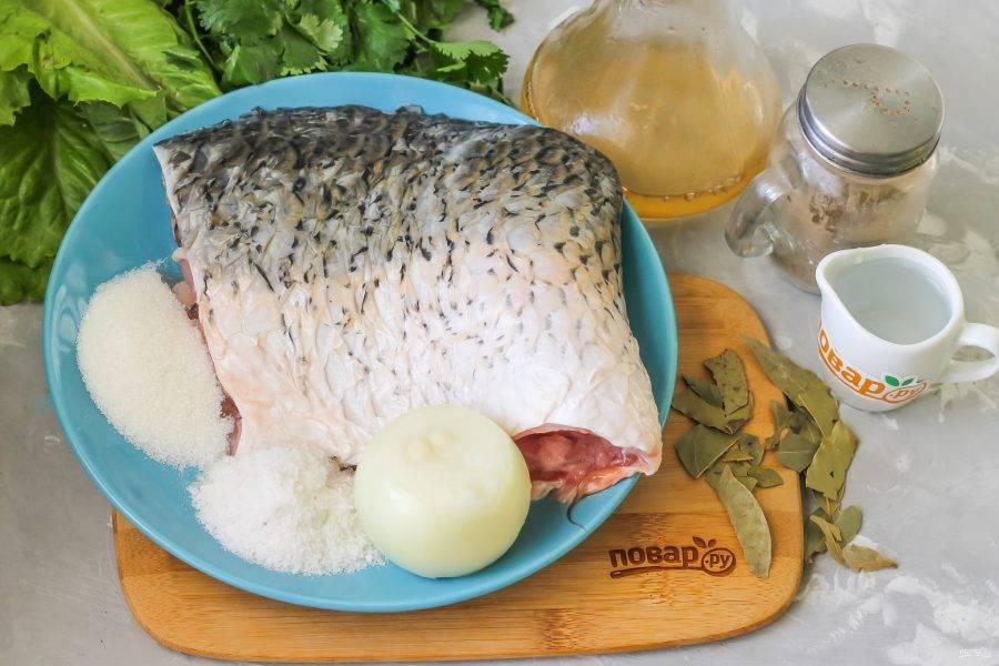 Посол рыбы для хранения